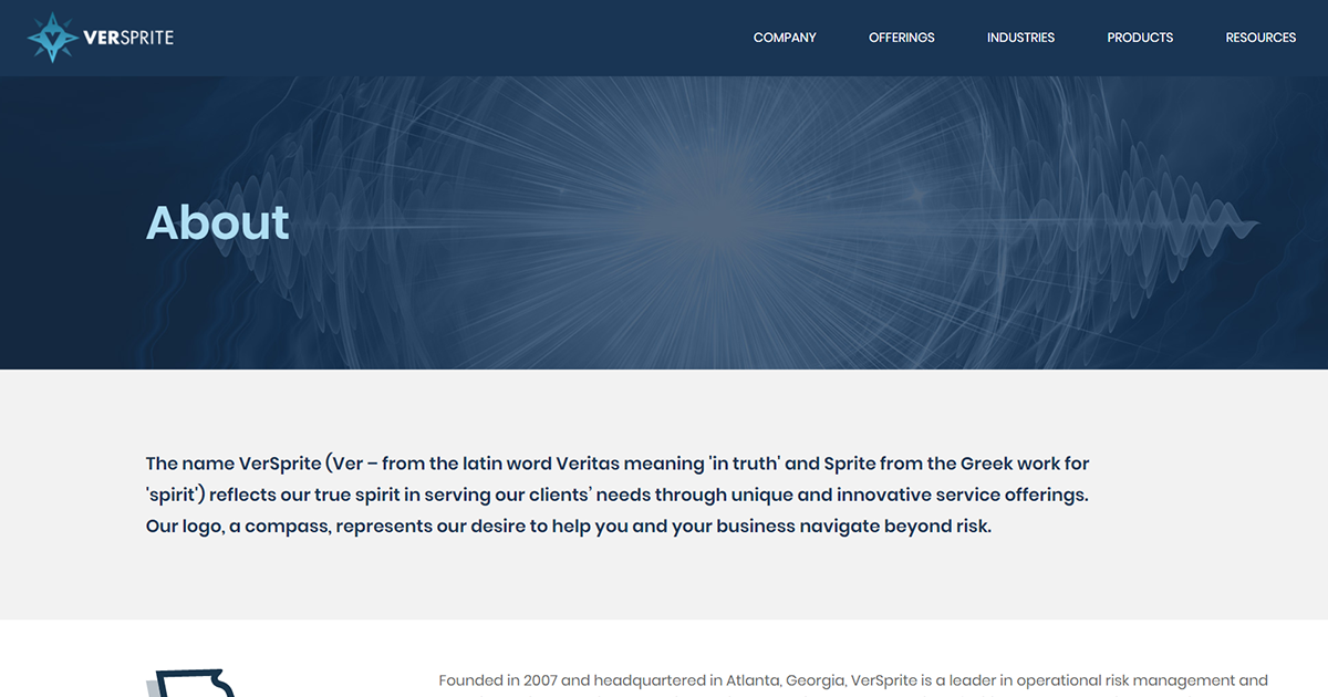 VerSprite is an International CyberSecurity Consulting Firm