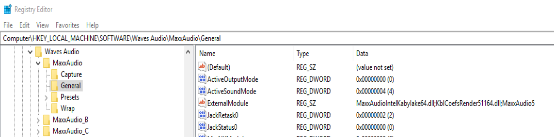 Waves Maxx Audio DLL Side-Loading LPE via Windows Registry