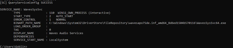 Waves Maxx Audio DLL Side-Loading LPE via Windows Registry | VerSprite