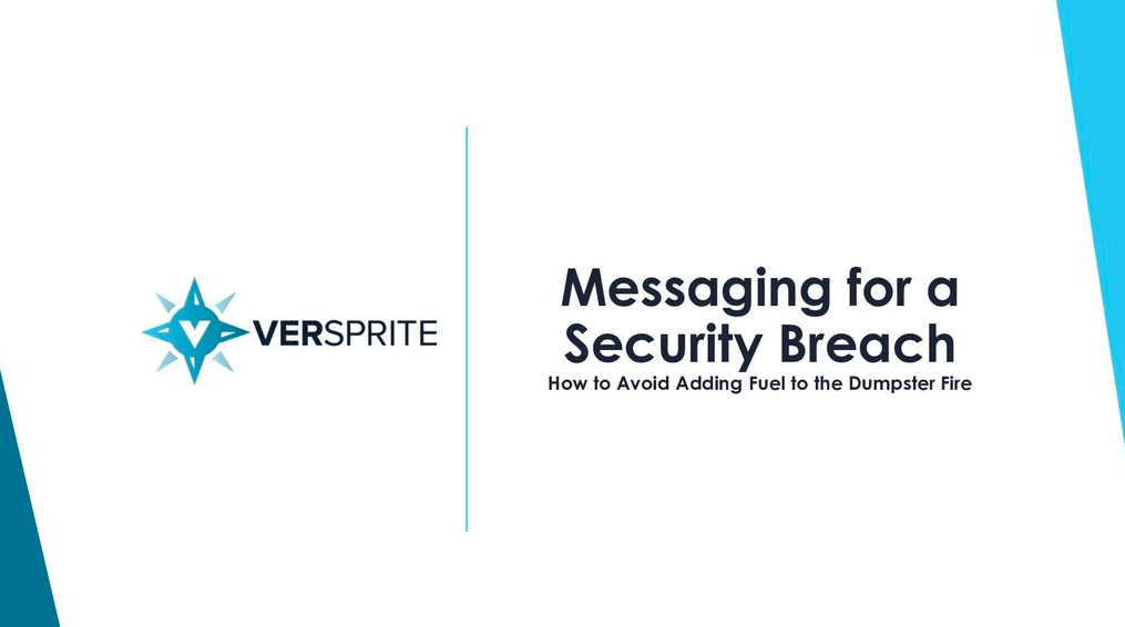 messaging-for-a-security-breach