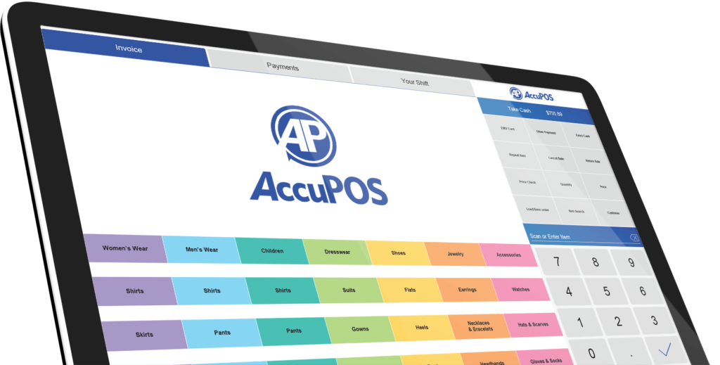 "The AccuPOS Point Of Sale Application is installed with the insecure ""Authenticated Users: Modify"" permission for files within the installation path. This may allow local attackers to compromise the integrity of critical resource and executable files."